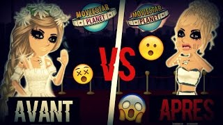 MovieStarPlanet Avant VS MovieStarPlanet Après :o !