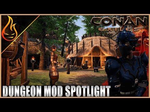 Conan Exiles VallenHeim Dungeon By Lauren Lore Mod Spotlight |