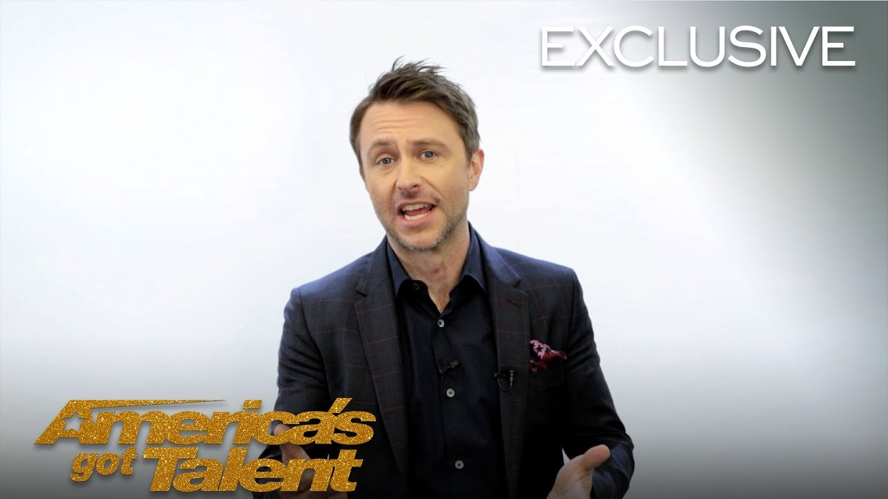 Chris Hardwick Chats About The Inspiration Behind His Golden Buzzer - America's Got Talent 2018