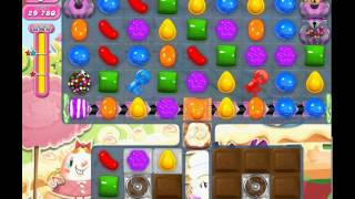 Candy Crush Saga level 875 (3 star, No boosters)