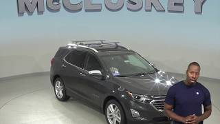 190405 New 2019 Chevrolet Equinox Premier FWD 4D Sport Utility Gray Test Drive, Review, For Sale -