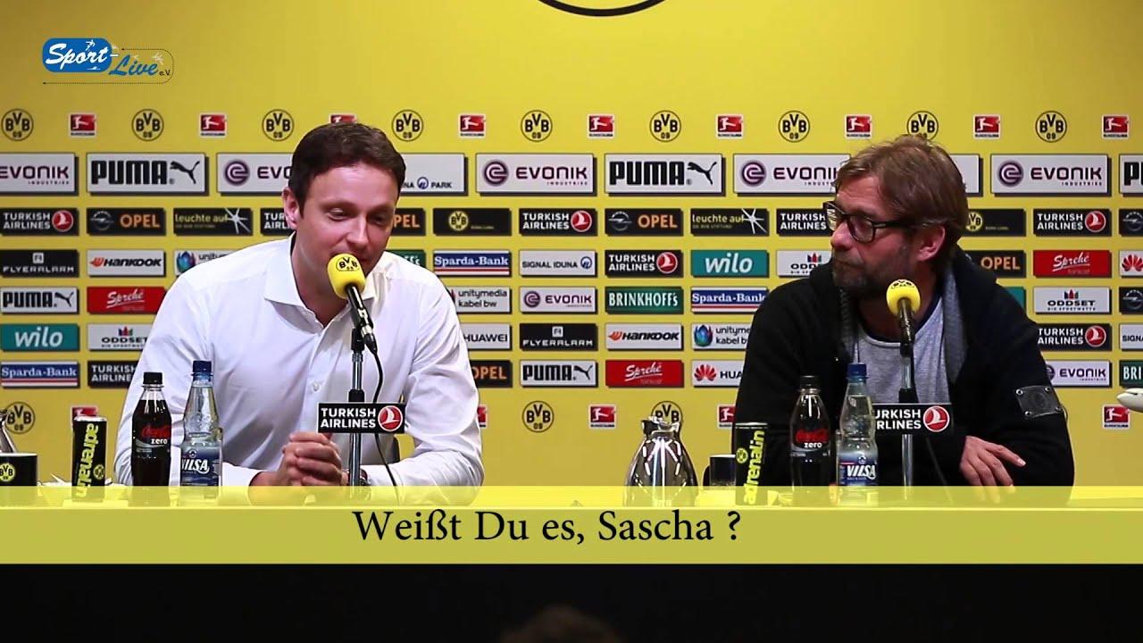 BVB Pressekonferenz vom 6. Februar 2014 vor dem Spiel SV Werder Bremen gegen Borussia Dortmund