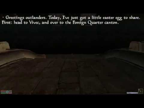 Morrowind Easter Eggs - Charles the Plant