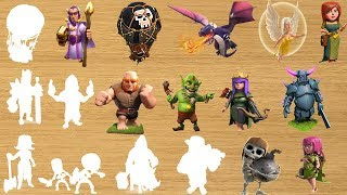 Clash of Clans Character Wooden Toys Games for Kids