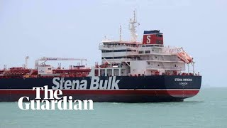 Iran releases new footage of seized British-flagged oil tanker