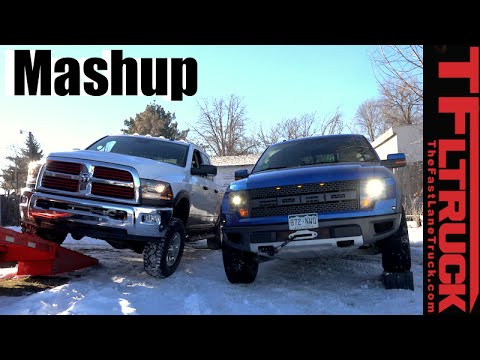 2016 ram power wagon vs ford raptor suspension flex. Black Bedroom Furniture Sets. Home Design Ideas