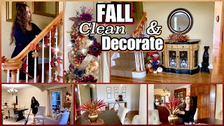 FALL Decorating & Clean with Me