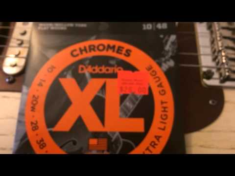 The Best Strings for Blues Guitar D'Addario Chromes