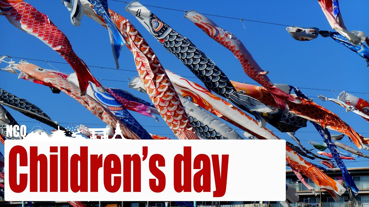 Kodomo no hi (Children's Day) in Japan - YouTube