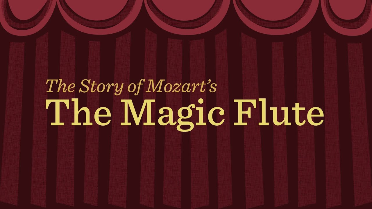 Mozart's 'Magic Flute': an animated plot summary | Classical MPR