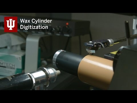 Wax cylinder recordings: Preservation and discovery through digitization