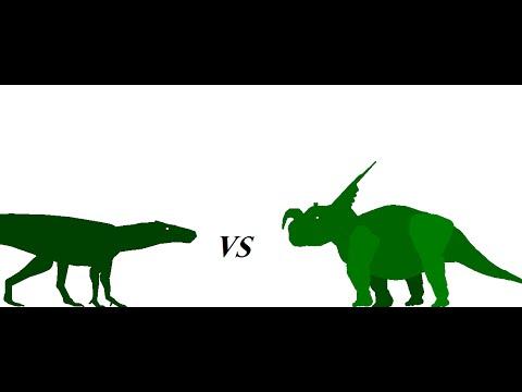 Baurusuchus vs einiosaurus