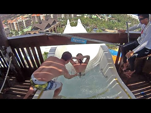 Beach Park in Brazil (Saxi Music Clip!)