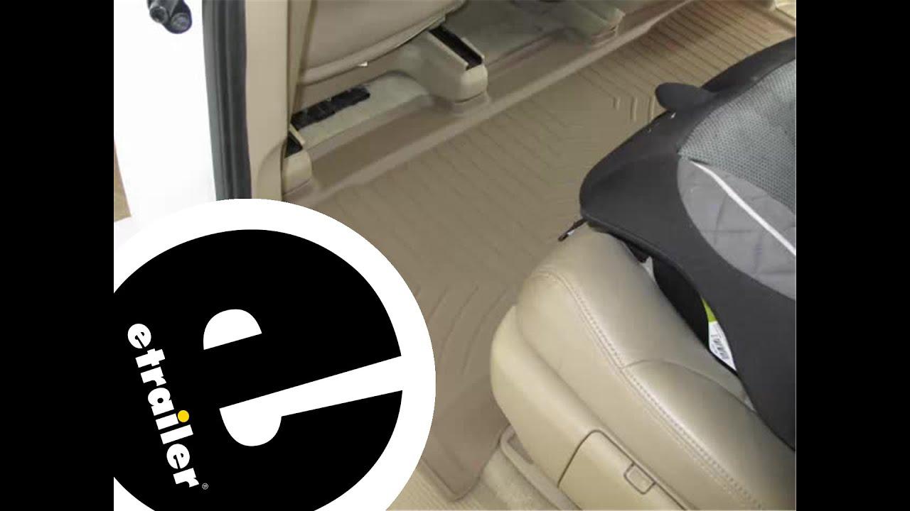 Floor mats odyssey - Review Of The Weathertech Rear Floor Liner On A 2008 Honda Odyssey Etrailer Com