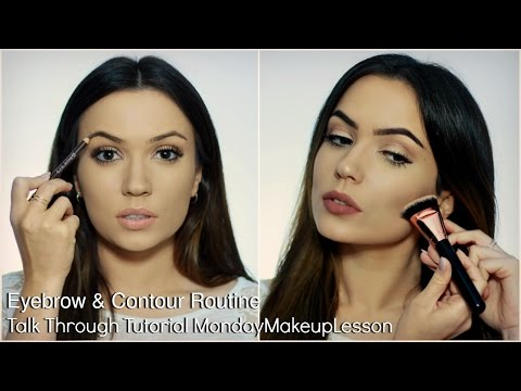 Beginners Talk Through Makeup Tutorial | Eyebrow