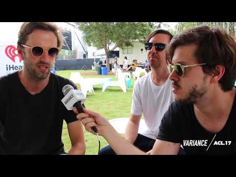 Cut Copy Interview with Variance at ACL 2017