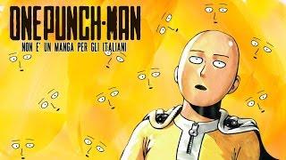 One punch man: non è un manga per gli italiani
