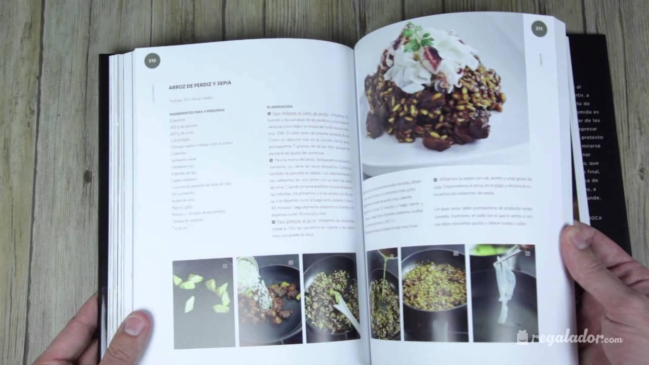 Libro cocina con joan roca joan roca youtube for Libro cocina al vacio joan roca pdf