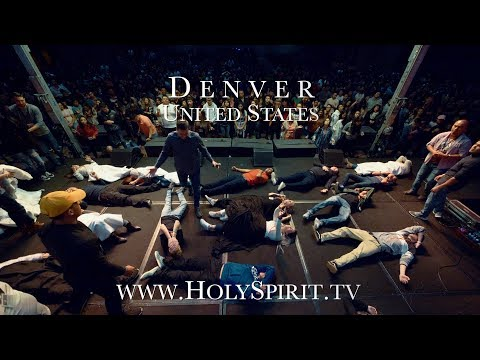 Youth encountering the Holy Spirit in Denver, Colorado!