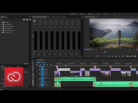 Coming To Adobe Premiere Pro - New Task-oriented Workspaces | Adobe Creative Cloud