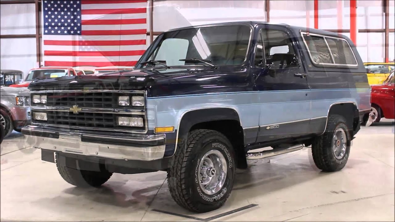 1990 chevy blazer youtube. Black Bedroom Furniture Sets. Home Design Ideas