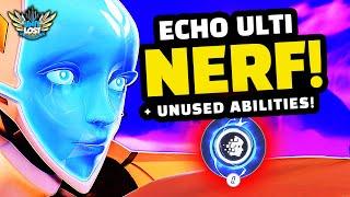 Overwatch - Echo Ultimate NERFED! + Unused Echo ABILITIES!