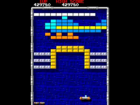 Arkanoid - Revenge of DOH ARCADE (Hardest Difficulty, US version) - Real-Time Playthrough