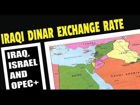 Iraqi News Updates OPEC Israel Revalue IQD Exchange Rate
