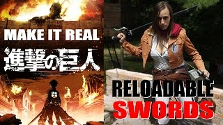 Make it Real: Testing the Reloadable Swords from Attack on Titan