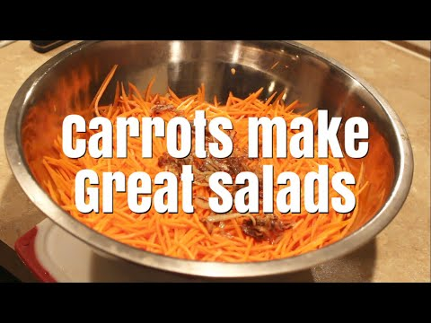 How To Make A Carrot Salad Recipe (Russian