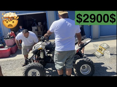 live auction found atv quad 450cc Polaris Porterville ca #Elias2320