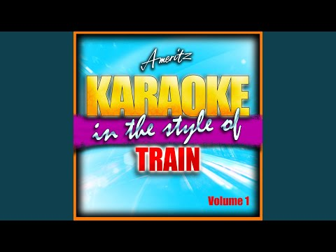 Give Myself To You (With Backing Vocals) (In The Style Of Train)