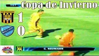 THE STRONGEST 1 vs Bolivar 0, Relato Quique Rivera, Copa de Invierno Cine Center 2015