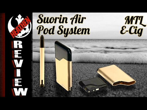 Suorin Air Credit Card Sized E-cig I Great for new vapers I