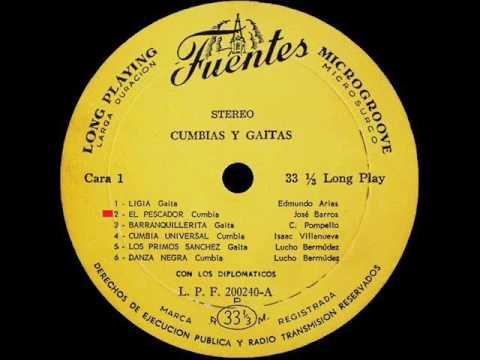 Los Diplomaticos -  El Pescador  -  FUENTES LP 200240
