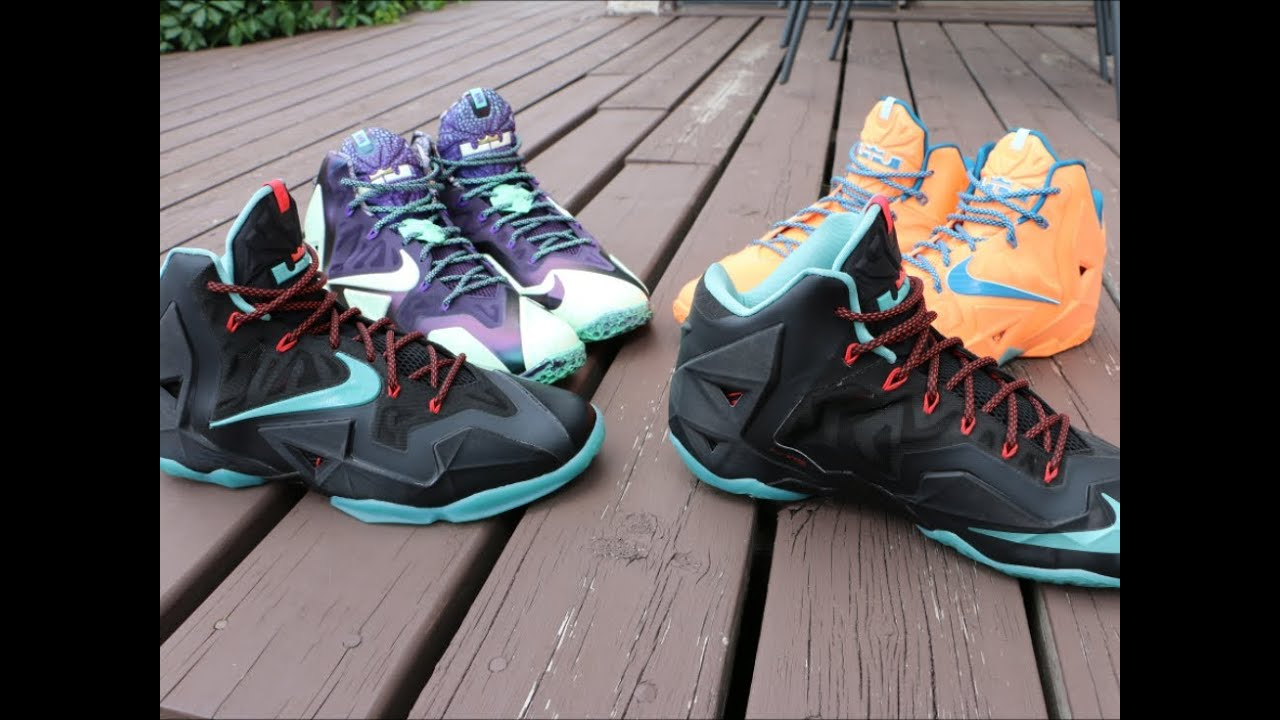 How I Lace My Nike LeBron 11's