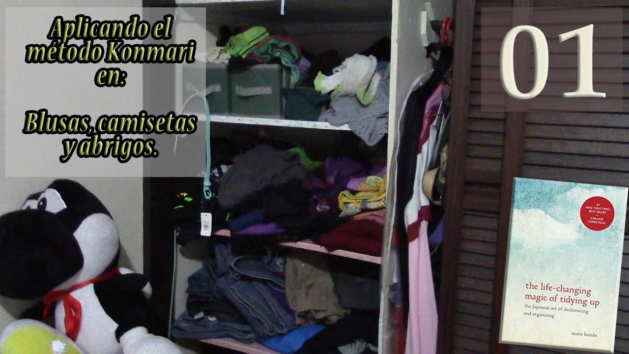Aplicando el m todo konmari seleccionando ropa primera - Metodo konmari ropa ...