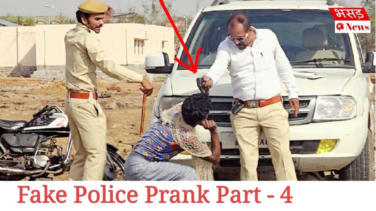 Fake Police Prank Part 4 | Bhasad News | Pranks in India