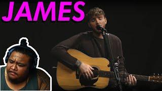 James Arthur - Empty Space Live [MUSIC REACTION]