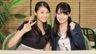 MCは、アンジュルム和田彩花と、モーニング娘。'15の野中美希! アンジ...