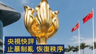 央视快评:止暴制乱 恢复秩序   CCTV