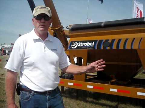 Farm Progress 2011 Video: Strobel Mfg B-T 300 Bulk Tender