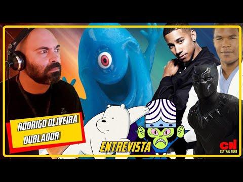 Rodrigo Oira - Voz do Pantera Negra Urso Polar e Macaco Louco  Dublador T02E08