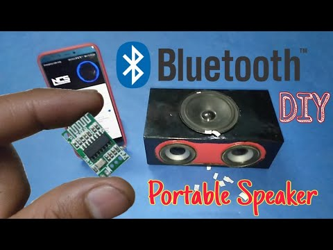 Bluetooth Speaker DIY | How To Make Portable Bluetooth Speaker At Home