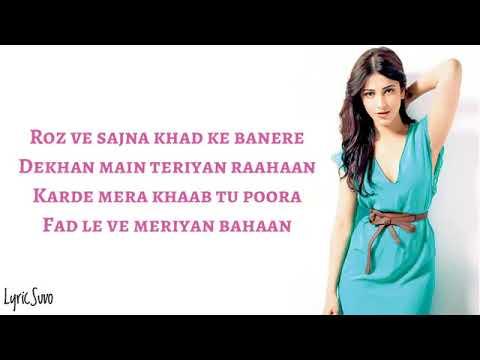 Tenu Na Bol Pawaan Reprise   Lyrics   Female Version   Asees Kaur   Behen Hogi Teri