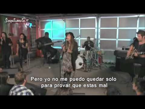 Demi Lovato- My Love Is Like A Star- live acoustic ♥ sub español