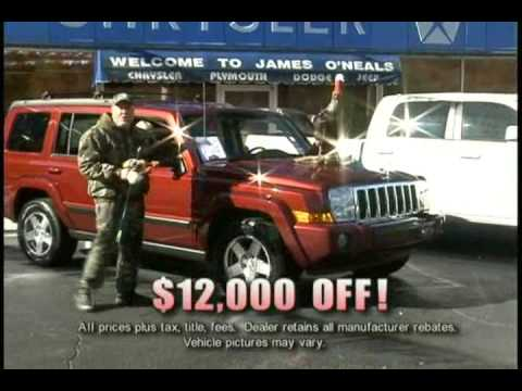 james o neal chrysler dodge jeep holiday youtube youtube