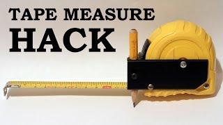 Tape Measure Hack / Trick