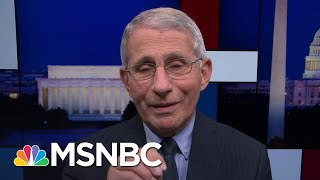 Fauci: Scientists Working On Therapies To Make Covid-19 Less Deadly | Rachel Maddow | MSNBC