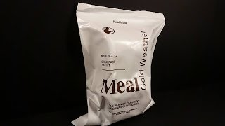 2018 Meal Cold Weather Breakfast Skillet MRE Review Meal Ready to Eat Taste Testing